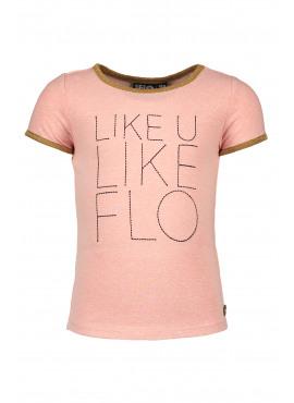 Flo girls ss slub tee