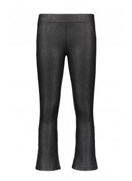 F908-5616-099 Flo girls jacquard snake flare pants black