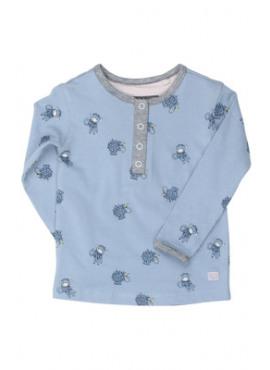 P808-9461-130 t-shirt diertjes denim