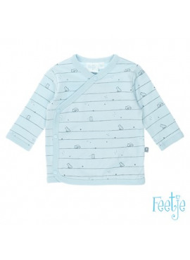 516.01359 Overslagshirt Little one blauw