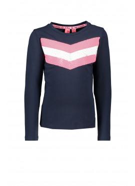 Y909-5433 Shirt Girls V-shape