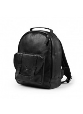 Rugzak MINI Black Leather