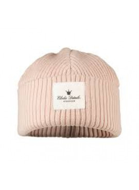Wool Cap Powder Pink 6-12m