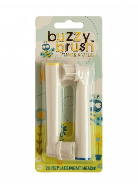 Buzzy Brush Vervangingsborsteltjes - 2 Pack