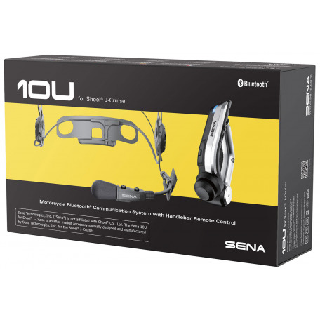 SENA 10U FOR SHOEI J-CRUISE