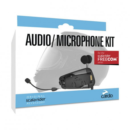 CARDO AUDIO/MICROPHONE KIT FREECOM