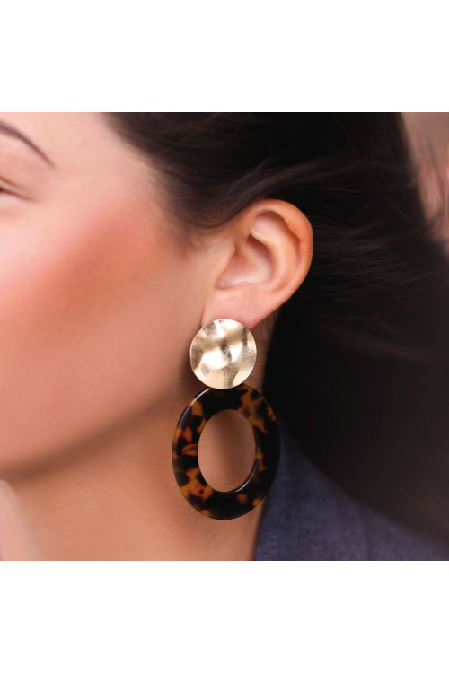ovale oorhangers