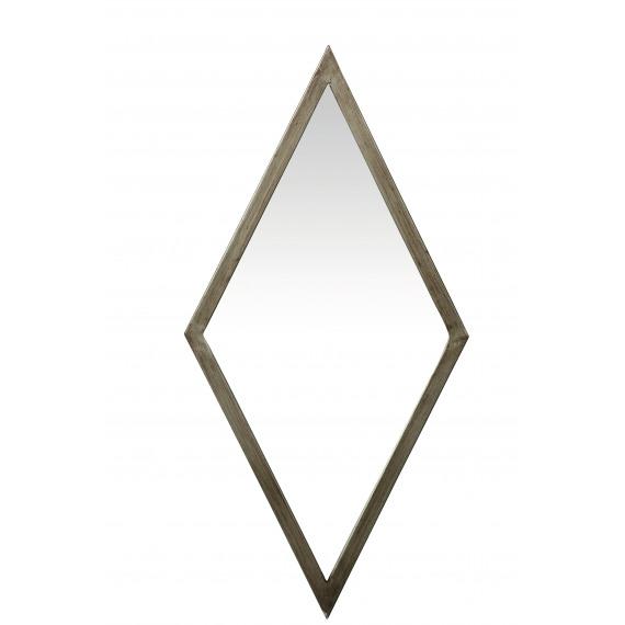 Gatsby spiegel ruitvormig metaal 69x4x34 cm product detail gatsby miroir rhombique metal - Spiegel orangerie ...