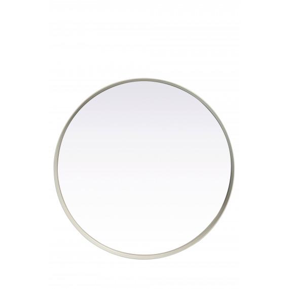 Kelly ronde spiegel metaal spiegel wit s 31x5cm product detail kelly ronde spiegel - Spiegel orangerie ...