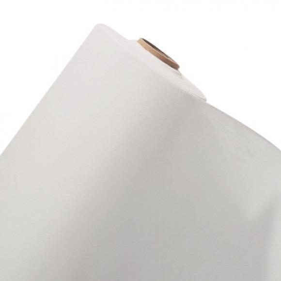 GALA Nappe En Rouleau Uni White Sensation De Lin 25mx120cm Blanc