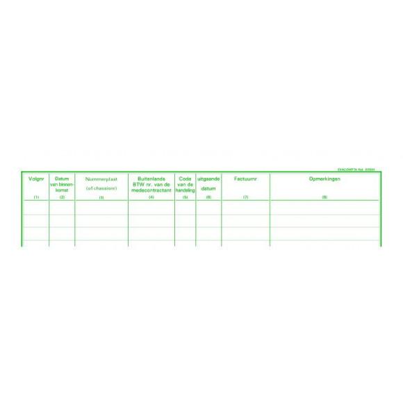 EXACOMPTA Piqûre Garagistes NL 32x25cm 80 Pages