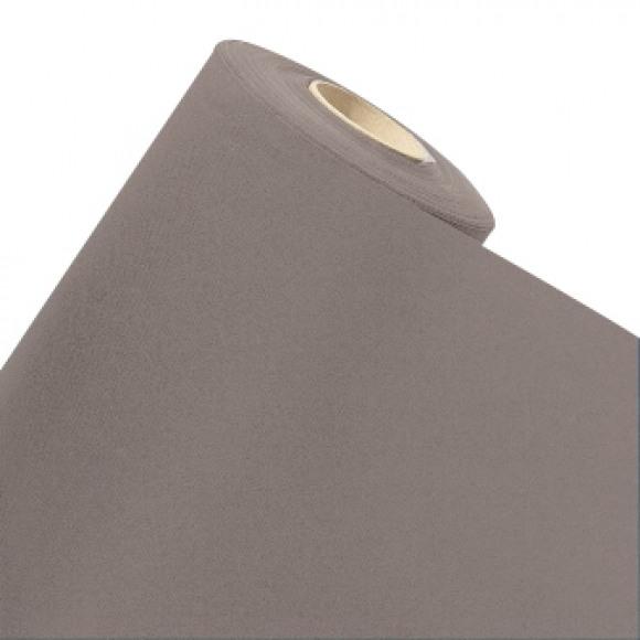 GALA Nappe En Rouleau Uni Golden Grey Sensation De Lin 10mx120cm Noir/gris
