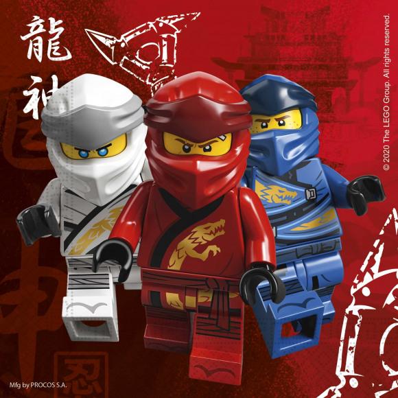 AVA selection Servetten Lego Ninjago 2-Laags 33x33cm 20 Stuks