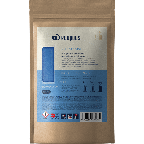 AVA selection Ecopods All Purpose Cleaner Algemeen Gebruik 4 Capsules