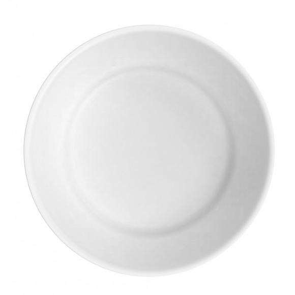 AVA selection Bord Herbruikbaar PP+Mineral Wit Ø 17,8cm 6 Stuks Wit
