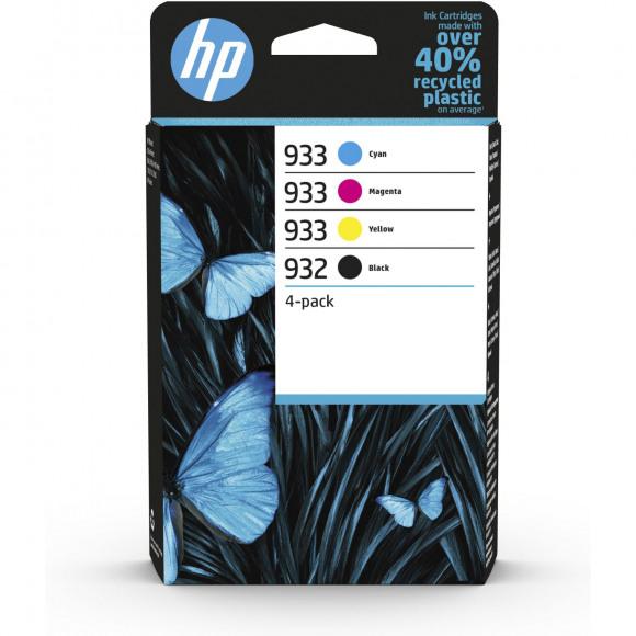 HP Cartridge 932/933 Zwart + Tricolor Meerdere
