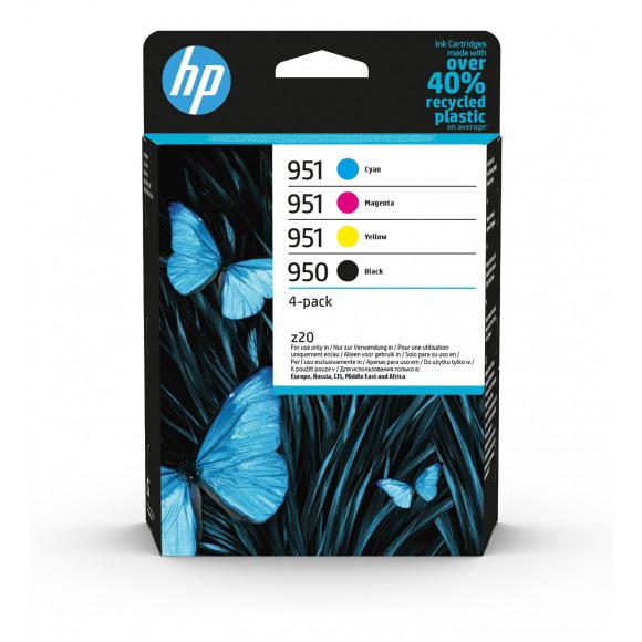 HP Cartridge 950/951 Zwart + Tricolor Meerdere