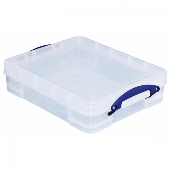 REALLY USEFUL BOX Boîte De Rangement 11L Transparent