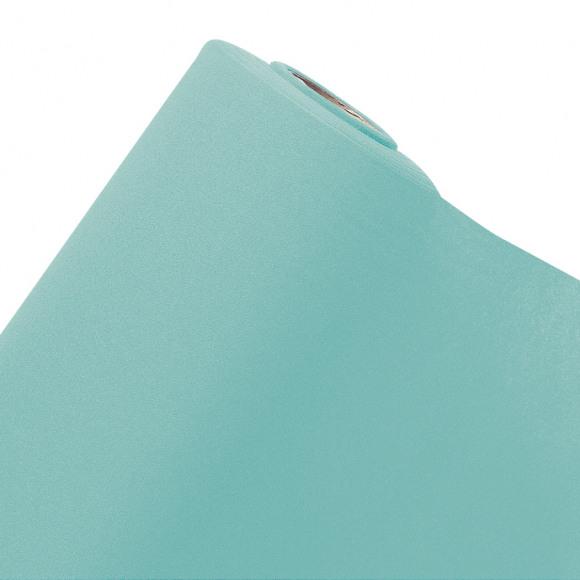 GALA Nappe En Rouleau Uni Aqua Sensation De Lin 10mx120cm Bleu