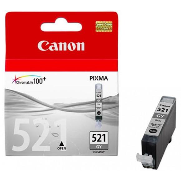 CANON Cartouche CLI-521 Grise Noir/gris