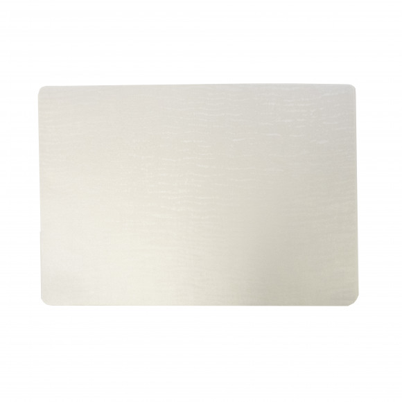 FINESSE Placemat Afwasbaar Polyline Forest White 30x43cm