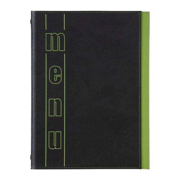 AVA selection Fardes Horeca Trendline Color Menu A4 Noir/Vert