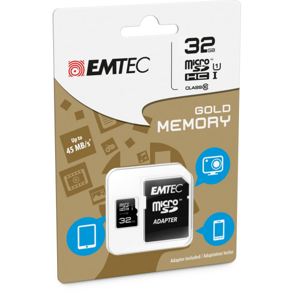 EMTEC Memory Card Micro Sdhc 32Gb