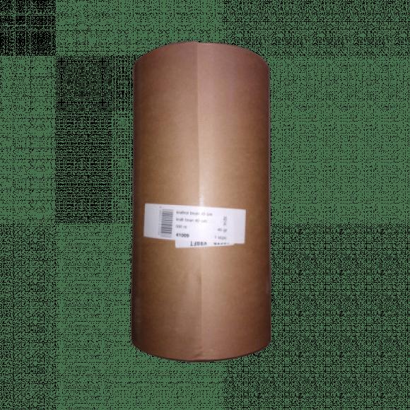 AVA selection Rouleau Kraft 500m x 40cm Brun 45g/m³ - 21cm Diamètre - 10Kg Brun