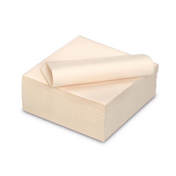 TABLESTAR serviette dîner unie sensation de lin carrée 40x40cm 50 pièces Jaune