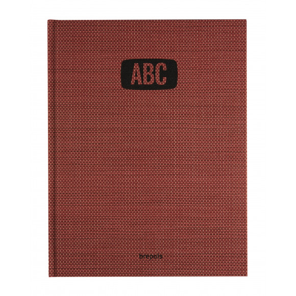 BREPOLS Adresboek Tessuto Deskphone Rood Rood