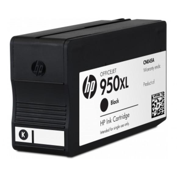 HP Inktcartridge 950XL Zwart Zwart/grijs