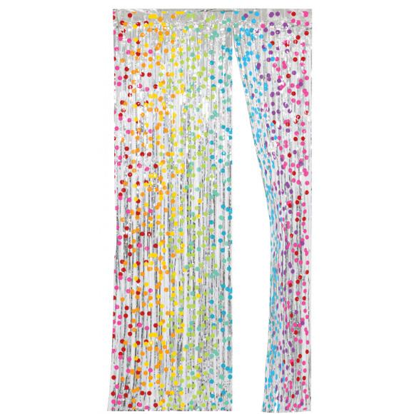 AVA selection Deurgordijn 200x100cm Rainbow Birthday
