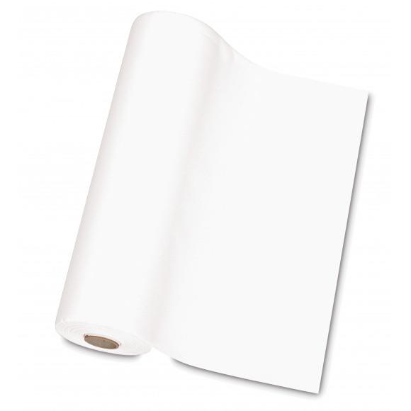 TABLESTAR chemin de table uni sensation de lin 30m x 40cm Blanc