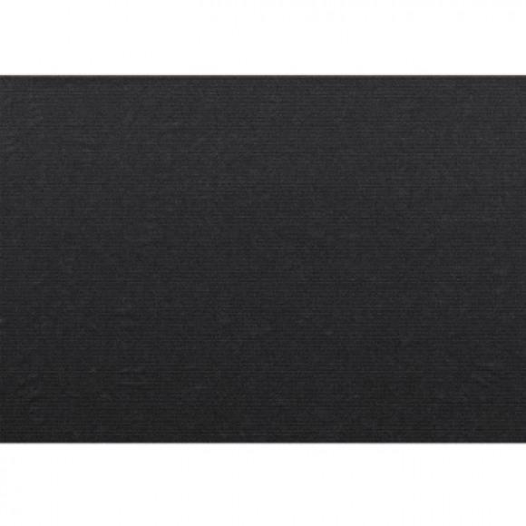 FIESTA Set De Table Uni Kraft Dark Grey 70g/m² 30x43cm 100 Pièces Noir/gris