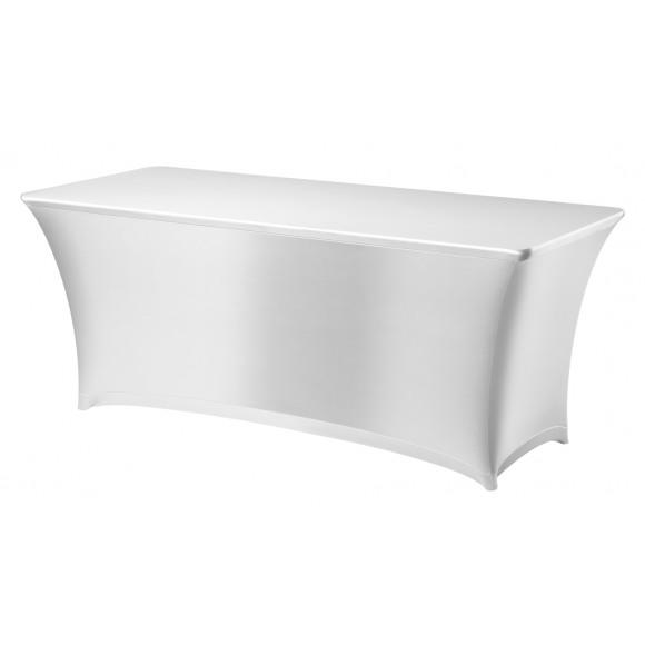 DENA Housse De Table 183x76x73cm Blanc Symposium Blanc