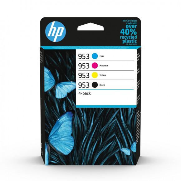 HP Cartridge 953 Zwart + Tricolor Meerdere