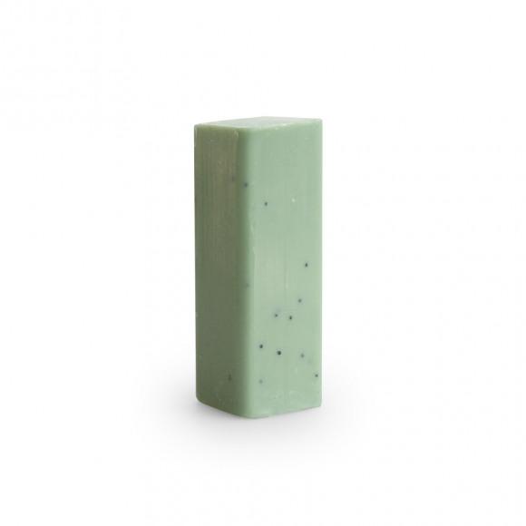 AVA selection Handzeep Bar Eucalyptus Parfum Cotton 60g 2,8x2,8x7,5cm 12 Stuks Groen