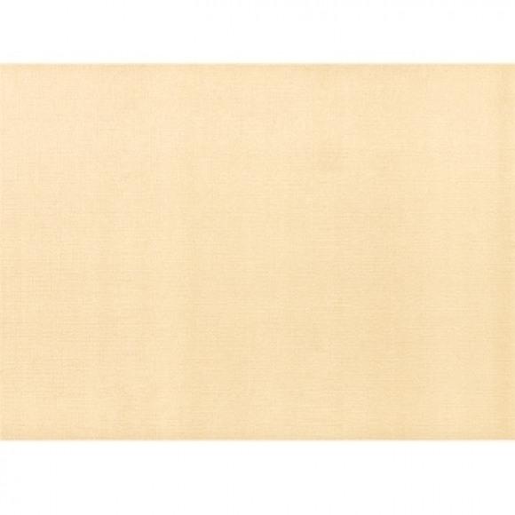 FIESTA Set De Table Uni Ecru 30x43cm 500 Pièces Blanc