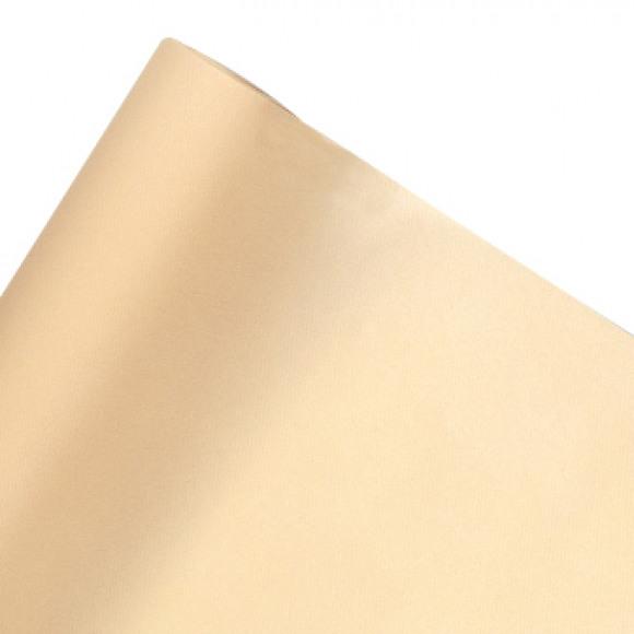 GALA Nappe En Rouleau Uni Ecru Sensation De Lin 10m x 120cm Blanc