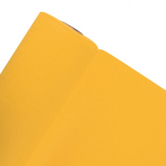 GALA Nappe En Rouleau Uni Passion Yellow Sensation De Lin 25mx120cm Jaune