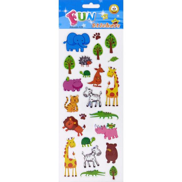 AVA selection Fun Stickers Dieren