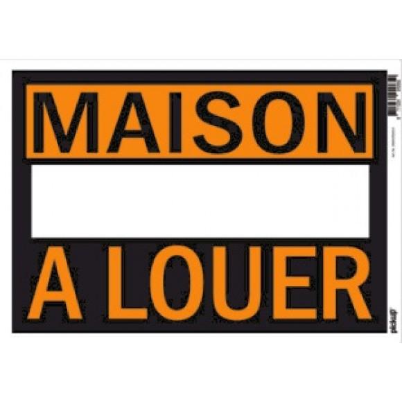 PICKUP Affiches 23x33cm Plastique - Maison A Louer