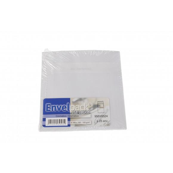 CROMATIC o Enveloppe 16x16Cm Extra Blanc 100g/m² 25 Pièces Blanc