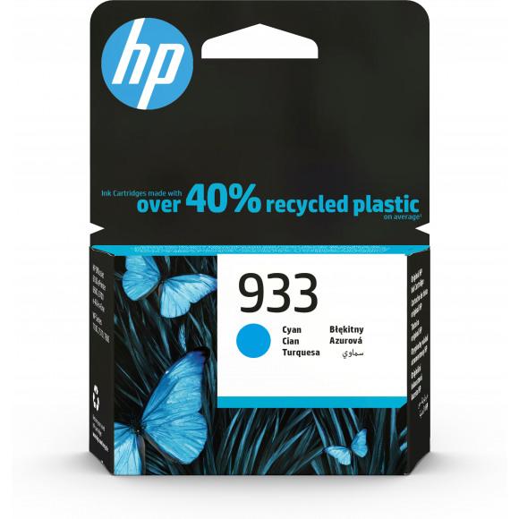 HP Cartridge 933 Cyaan Blauw