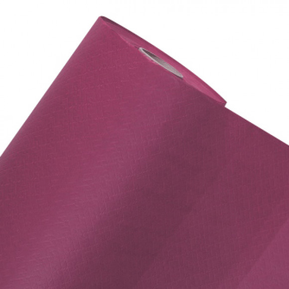 FIESTA Nappe En Rouleau Framboise Uni En Papier 50mx120cm Violet/rose