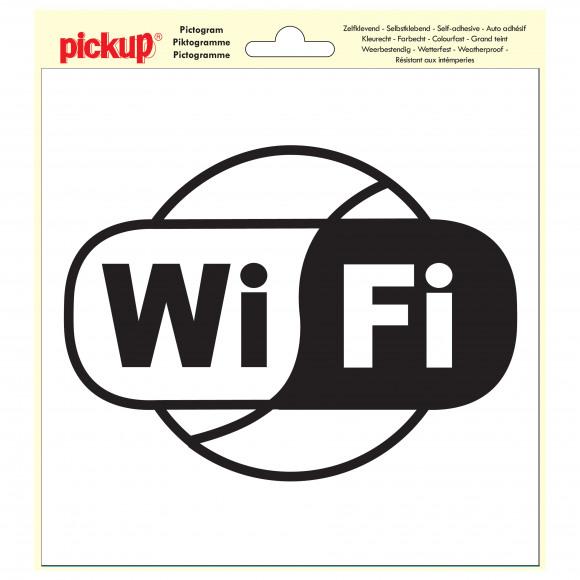 PICKUP Pictogramme 20x20cm Wifi