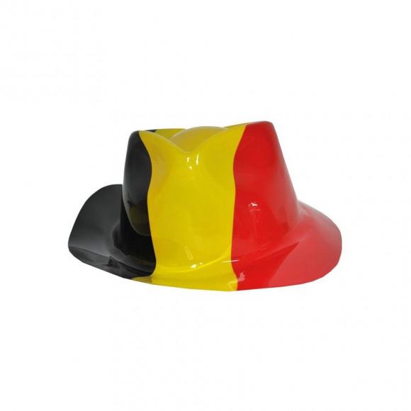 AVA selection Hoed België Tricolor Plastic 29x24,5x10cm Meerdere