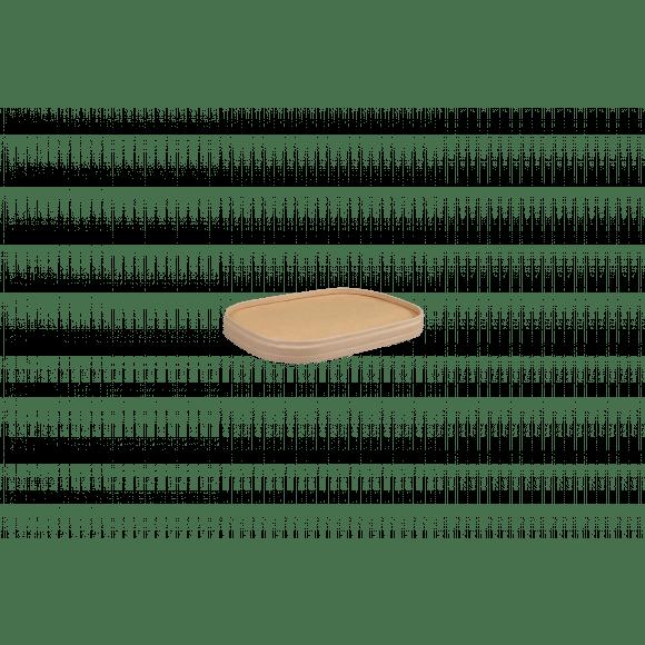 AVA selection Deksel Voor Kilobak Kraft Bruin 25 Stuks Bruin