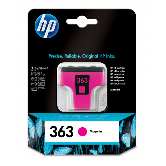 HP Cartouche 363 Magenta Violet/rose