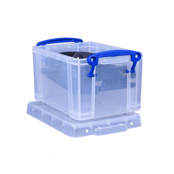 REALLY USEFUL BOX Boîte De Rangement 1,6L Transparent